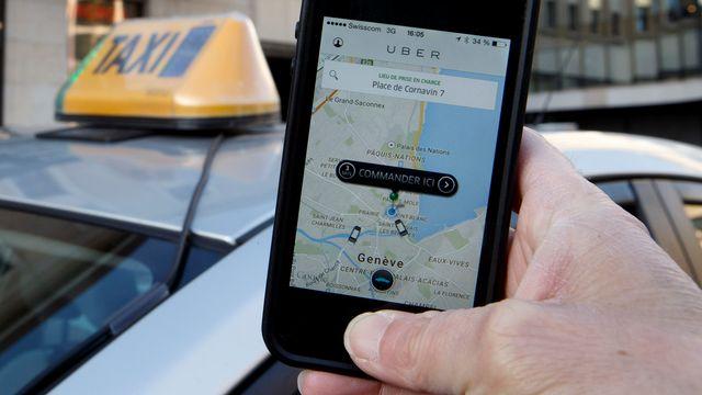 Uber doit se conformer à la législation à Genève. [Salvatore Di Nolfi - Keystone]