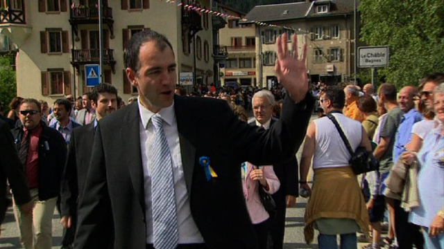 Christophe Darbellay en 2007. [RTS]