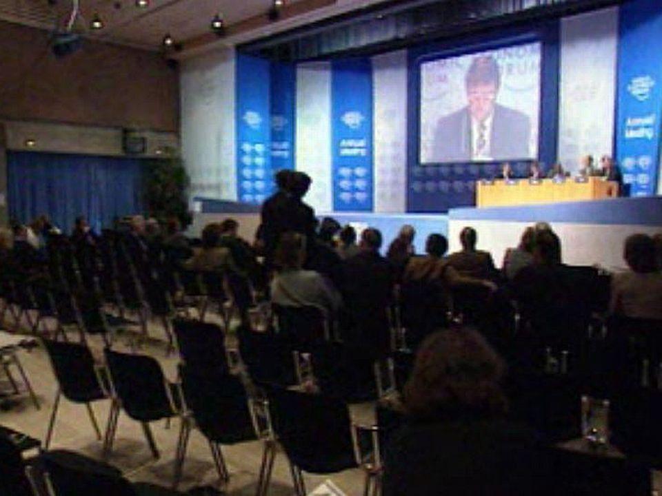 Les coulisses du Forum de Davos, nouveau bal des puissants.