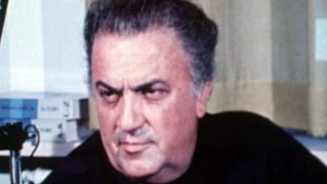 Federico Fellini évoque le tournage inachevé de Mastorna.