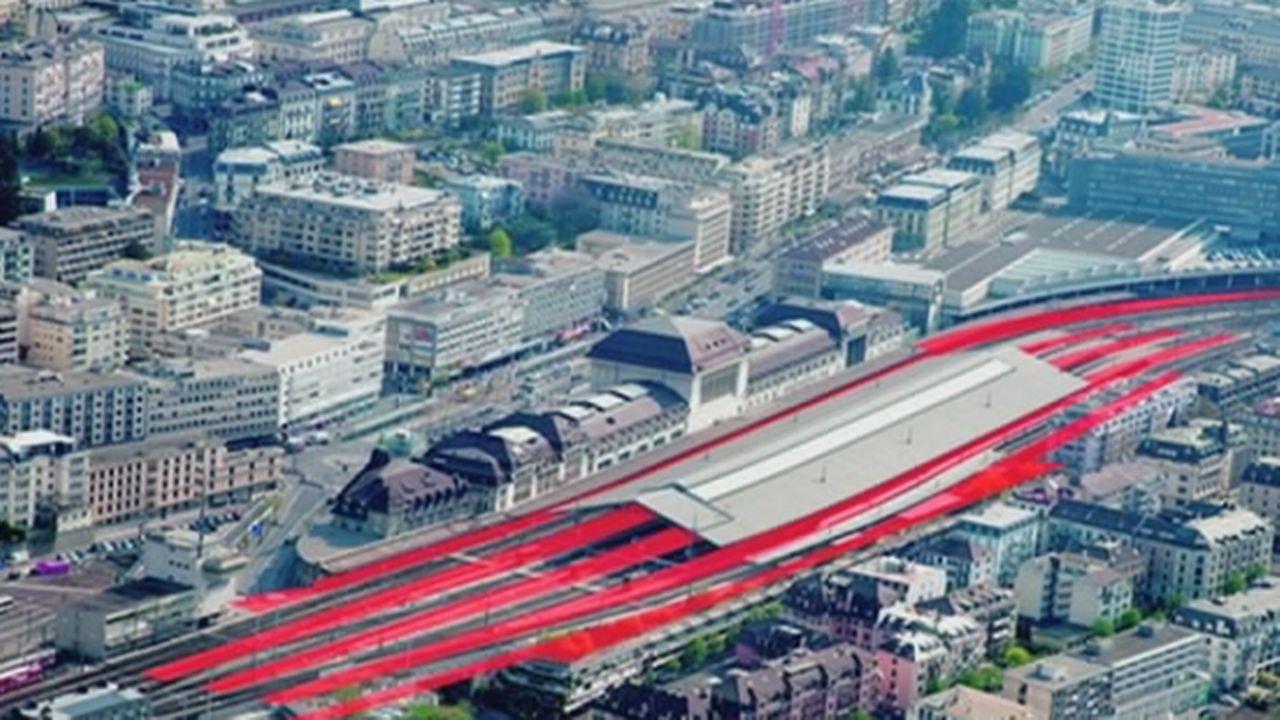VD: la gare de Lausanne prévoit des travaux conséquents [RTS]