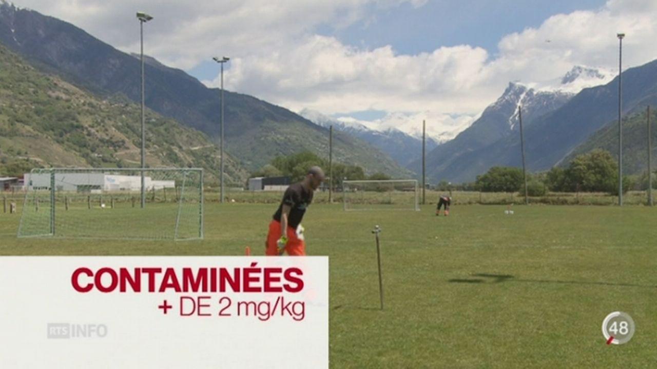 Le Valais lance une campagne d'analyse des sols après la pollution au mercure de la Lonza à Viège [RTS]