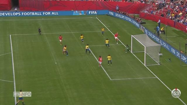 Football - Coupe du monde féminine à Vancouver: la Suisse l'emporte 10 à 1 contre l'Équateur [RTS]