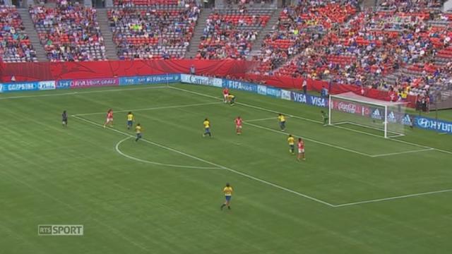 Football - Mondial dames: l'équipe de Suisse remporte la victoire contre l'Equateur [RTS]