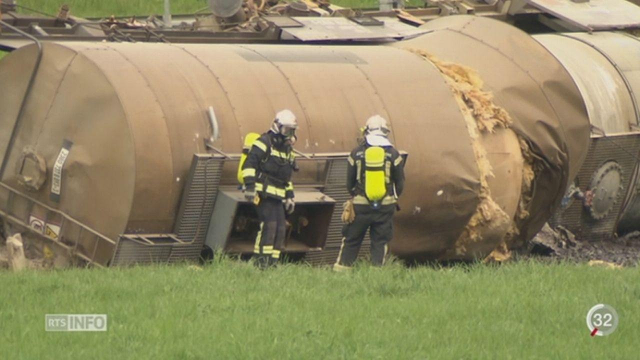 Accident de Daillens: les 50 tonnes d'acide chlorhydriques n'ont pas été transportées dans les règles [RTS]