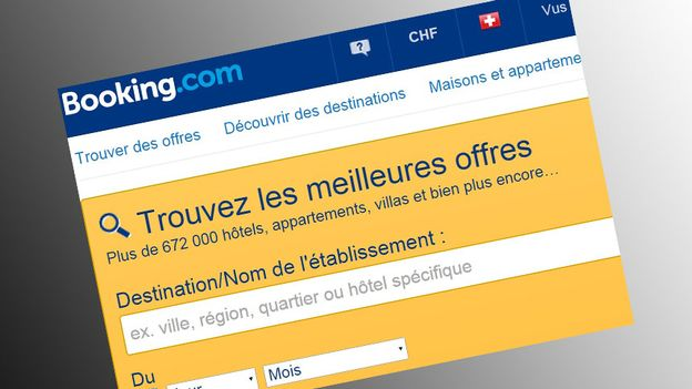 Le site de r servations f che le secteur for Le site booking