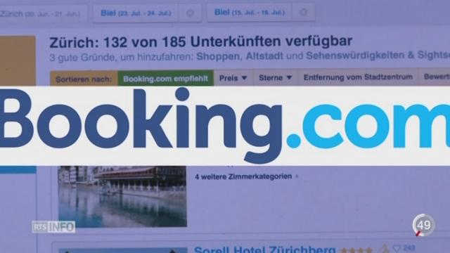 Le site de r servations f che le secteur for Site reservation hotel en ligne