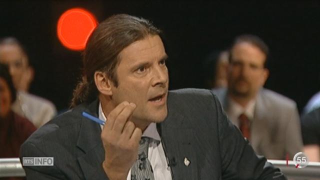 Oskar Freysinger va quitter Berne pour poursuivre sa carrière comme conseiller d'Etat valaisan [RTS]