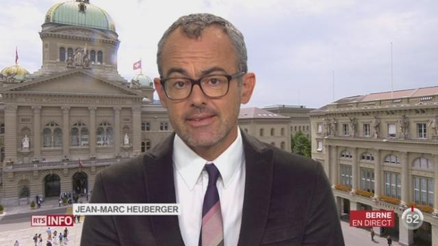 Politique monétaire de la BNS: l'analyse de Jean-Marc Heuberger [RTS]