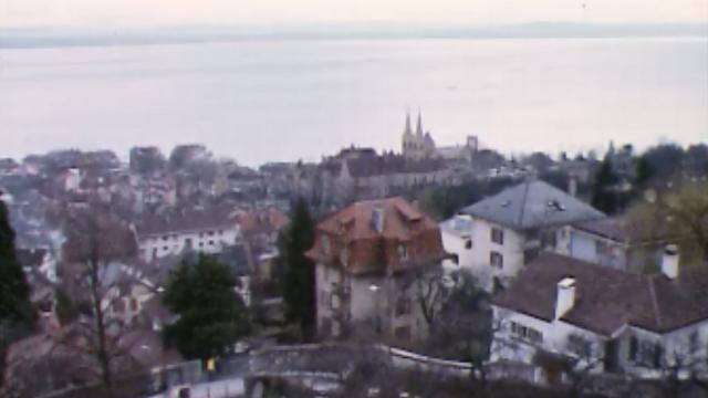 Ville de Neuchâtel en 1974 [RTS]