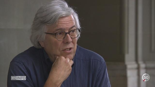 Départ parlementaire - ZH: Andreas Gross est le père de l'initiative pour l'abolition de l'armée en 1989 [RTS]