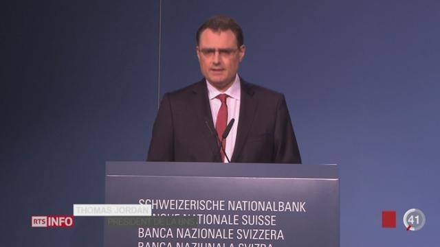 Franc fort: la BNS maintient sa politique monétaire et tente de rassurer [RTS]