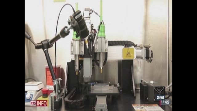 L'imprimante 3D fait une entrée fracassante dans le monde de la santé [RTS]