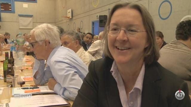 JU: Anne Seydoux et Pierre Kohler seront les deux candidats PDC aux Etats [RTS]