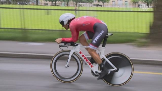 9e étape, Berne (contre-la-montre individuel): Fabian Cancellara (SUI) [RTS]