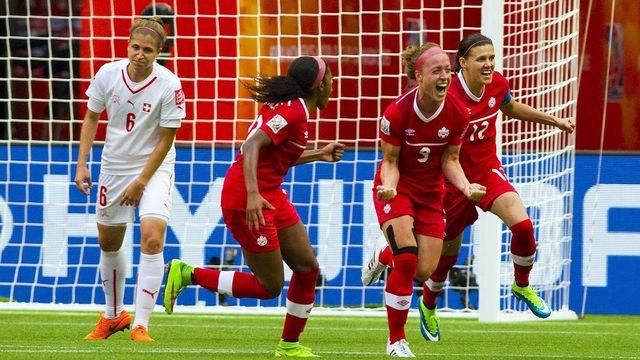 Mondial dames le canada brise le r ve de la suisse en - Coupe du monde feminine de la fifa canada 2015 ...