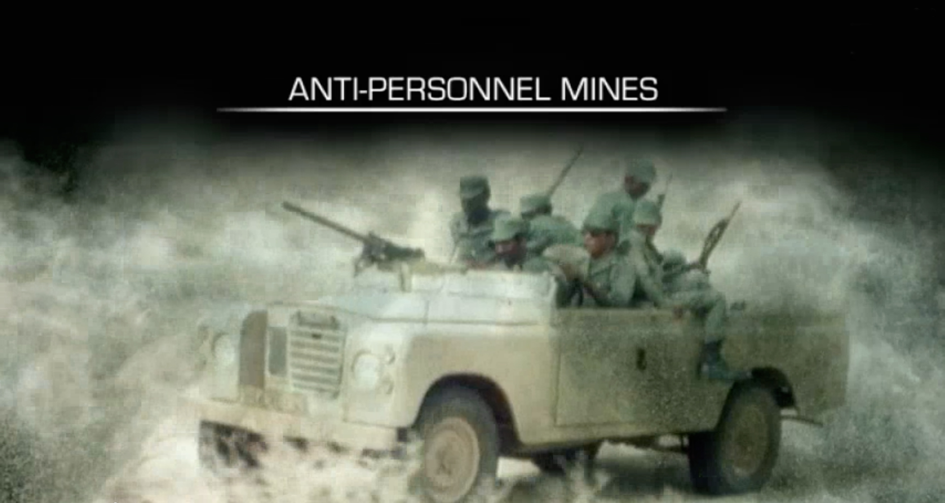 Mines antipersonnel - version en anglais