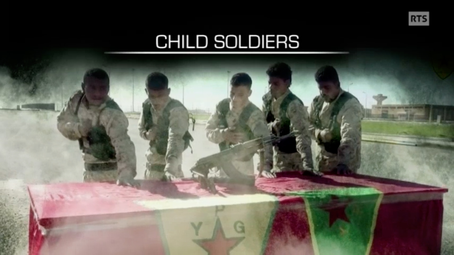 Enfants soldats - version en anglais