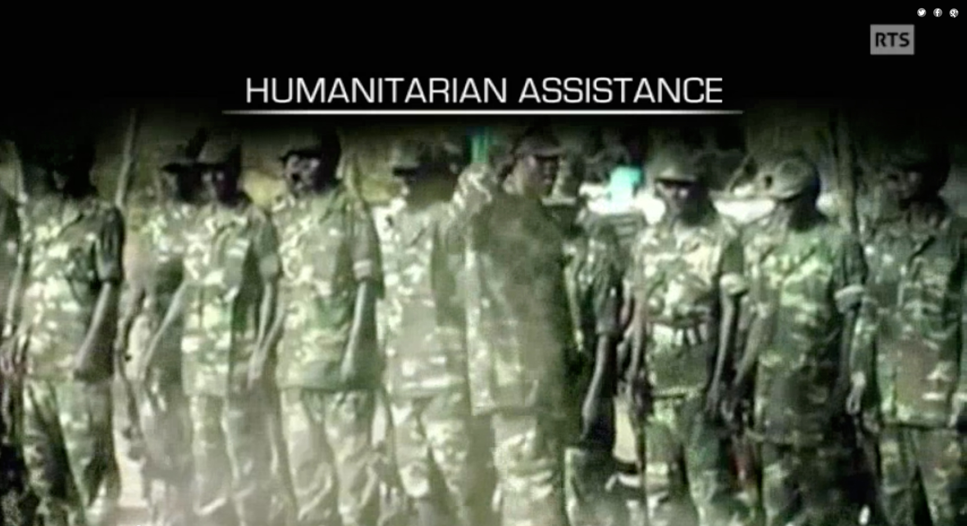 Assistance humanitaire - version en anglais