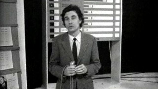 Claude Torracinta commente les élections fédérales de 1971 [RTS]