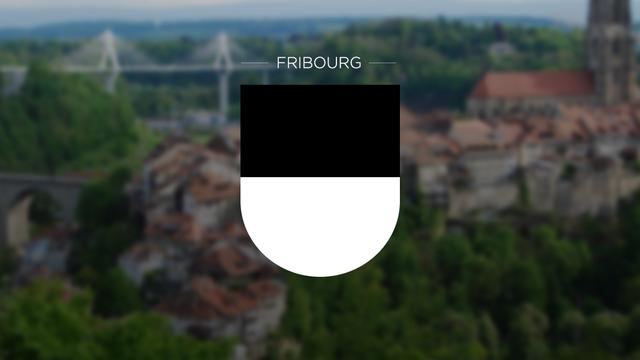 Canton de Fribourg. [RTS]
