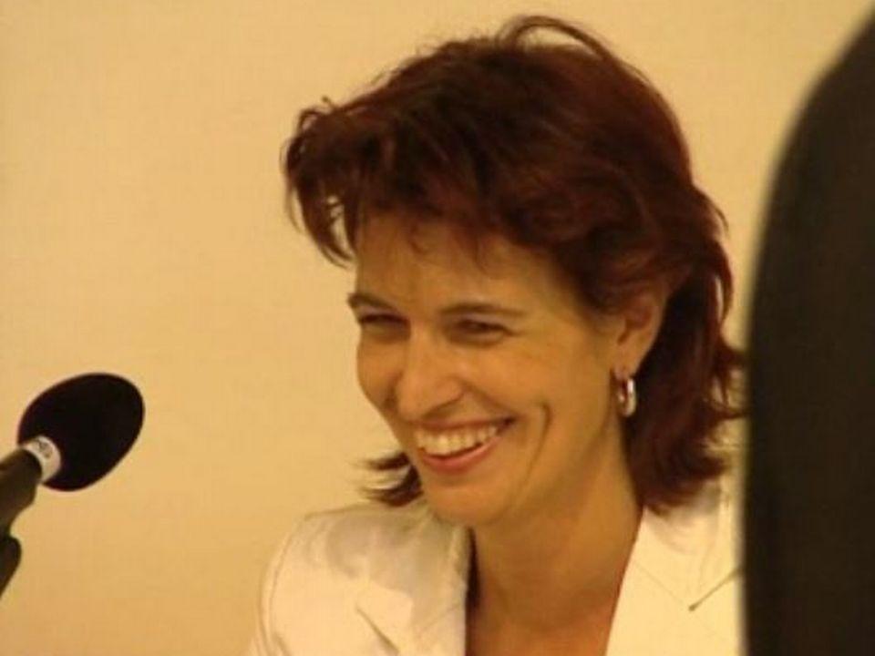 Doris Leuthard en 2004. [RTS]