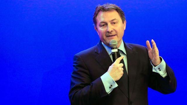 Sébastien Huyghe, porte-parole des Républicains français. [Jallal Sediki - Citizenside/AFP]