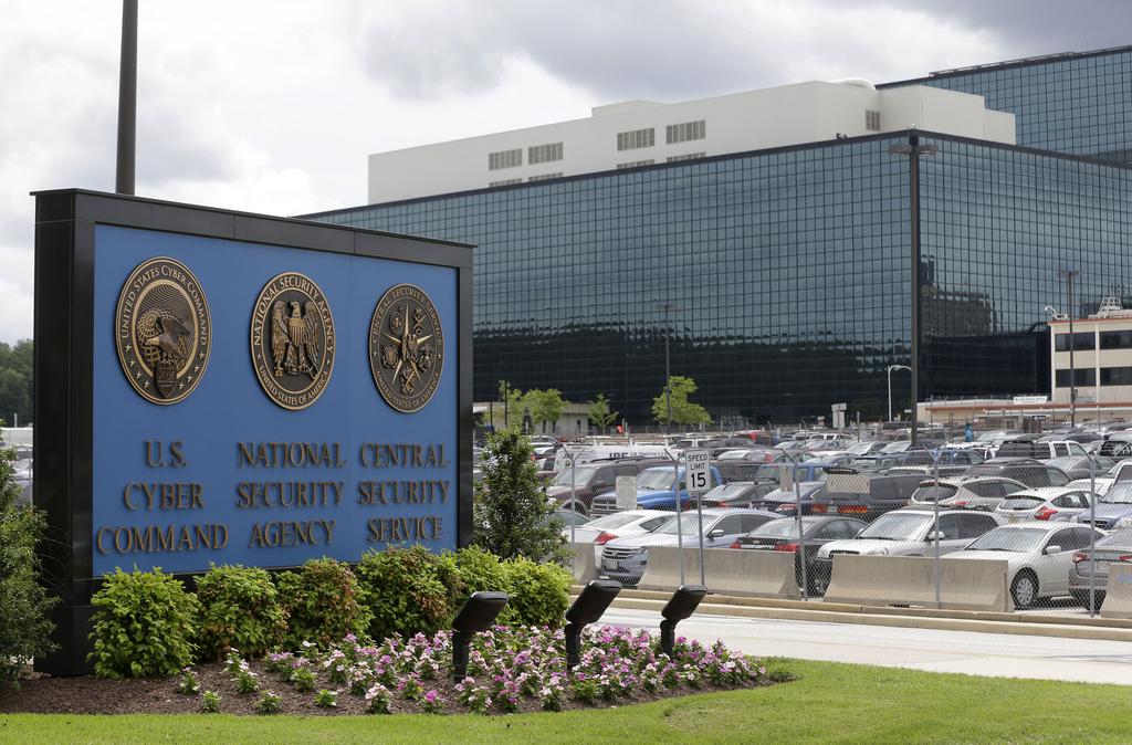 Le siège de la National Security Agency (NSA) à Fort Meade dans le Maryland.
