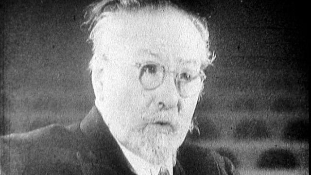 Portrait de Emile Jaques-Dalcroze. [RTS]