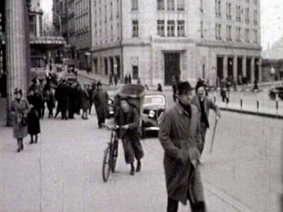 Lausanne en temps de guerre en 1940 filmée par le Cinéac. [RTS]