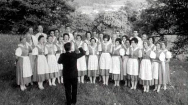 Un choeur de dames en 1965. [RTS]