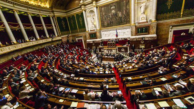 Les députés votent la très controversée Loi sur le renseignement. [Aurélien Morissard - Citizenside/AFP]