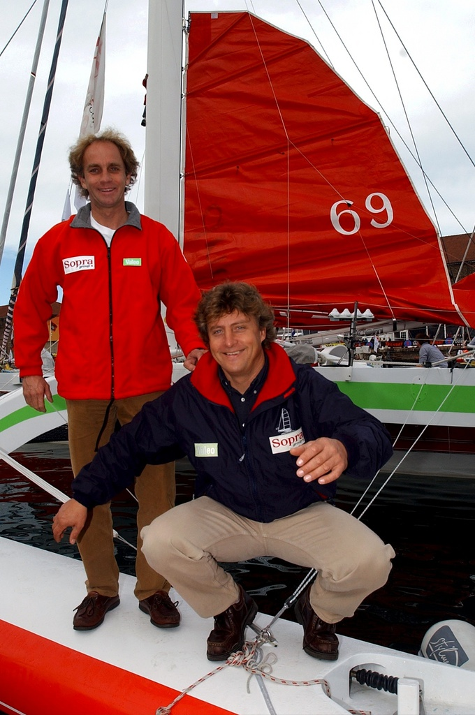 laurent bourgnon route du rhum