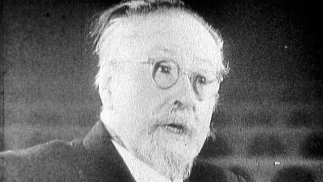 Emile Jaques-Dalcroze à l'âge de 80 ans. [RTS]