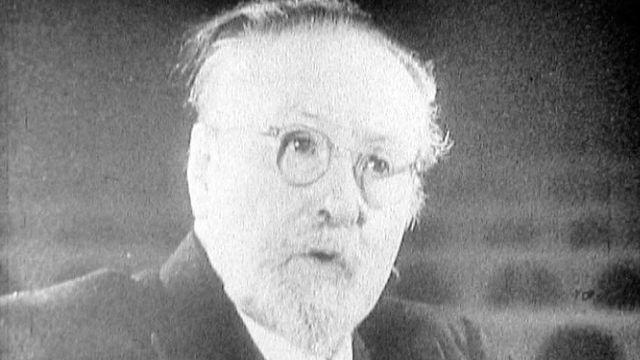 Portrait de Jaques-Dalcroze. [RTS]