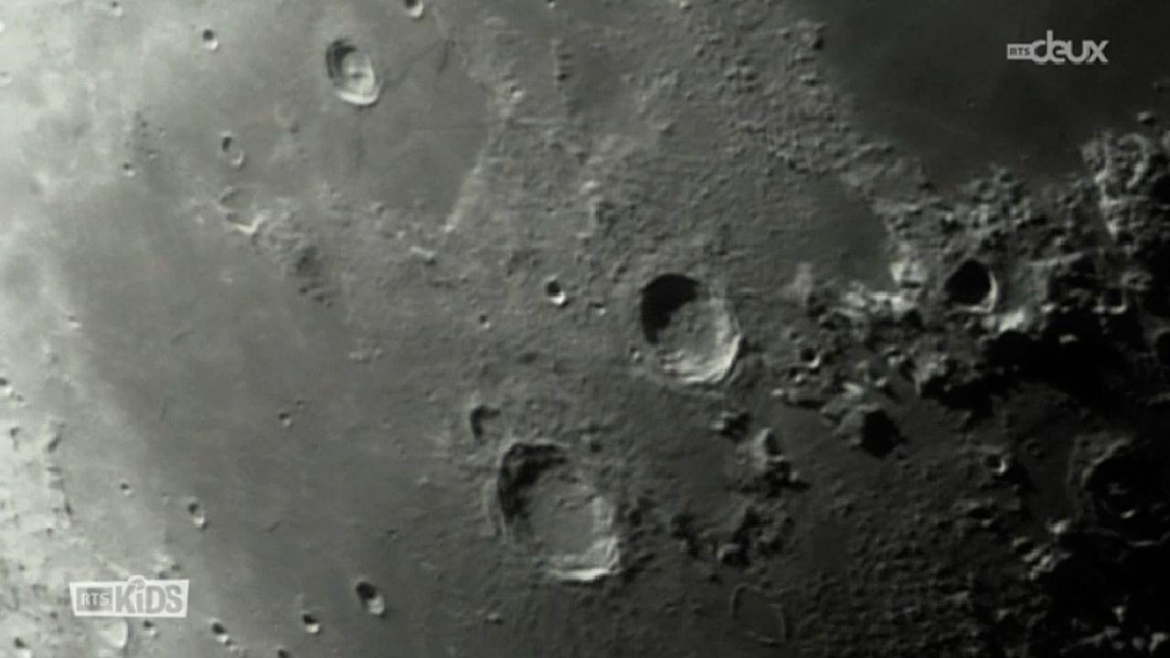 Y a-t-il des montagnes sur la lune? [RTS]