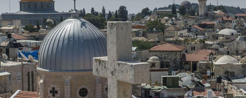 Jerusalem aujourd'hui un enjeux géostratégique.