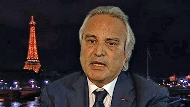 Roland Jacquard, président de l'Observatoire international du terrorisme. [RTS]