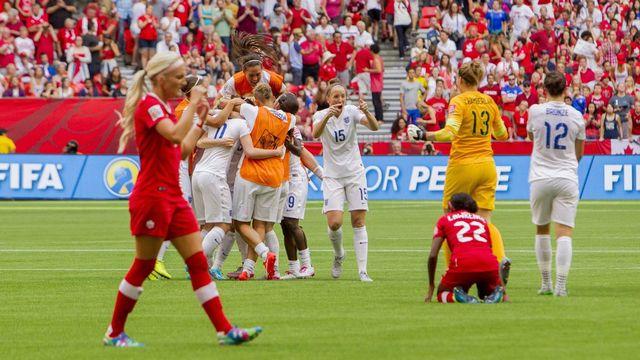 Mondial dames fin de parcours pour les canadiennes rts - Coupe du monde feminine de la fifa canada 2015 ...