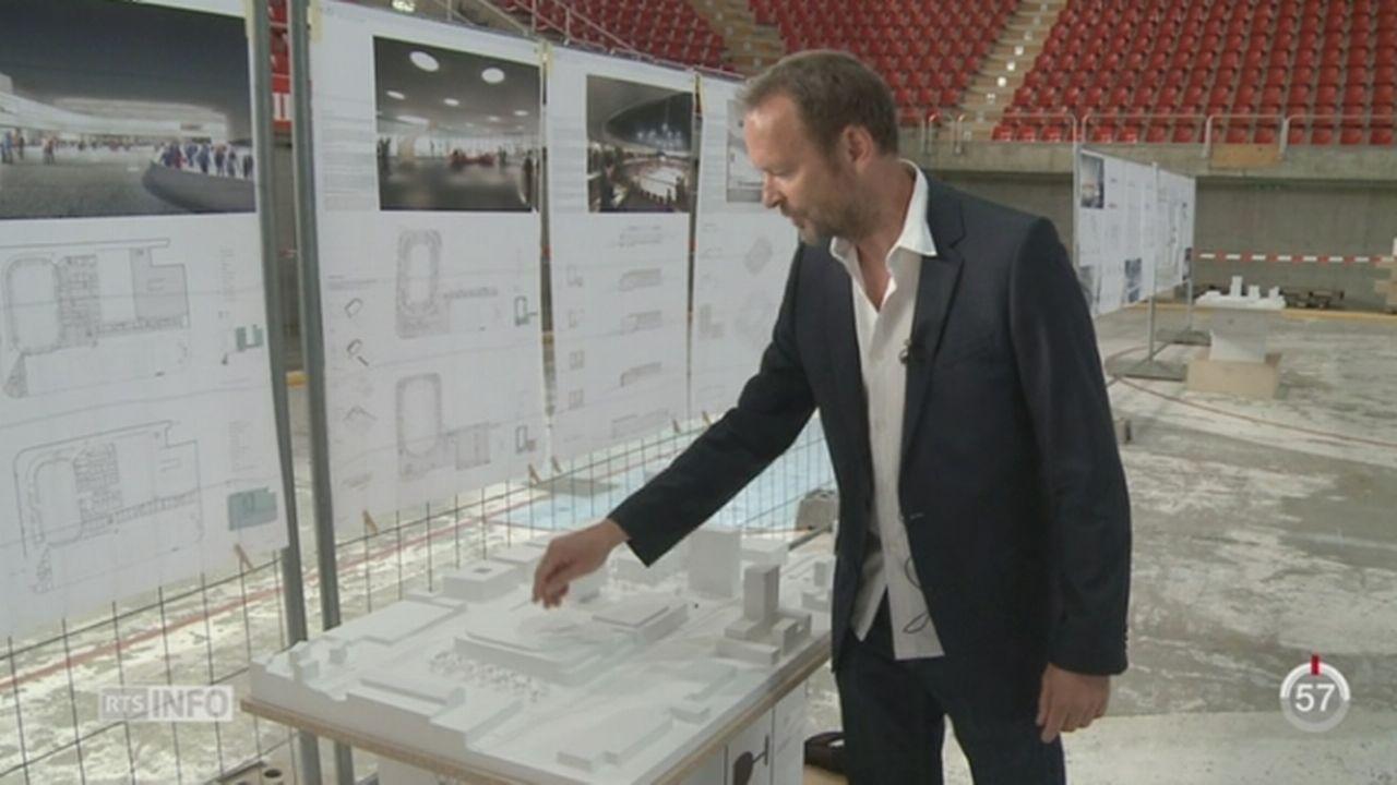 VD: le futur centre sportif de Malley est présenté [RTS]