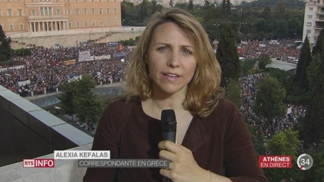 Grèce - Référendum: les précisions d'Alexia Kefalas, depuis Athènes [RTS]