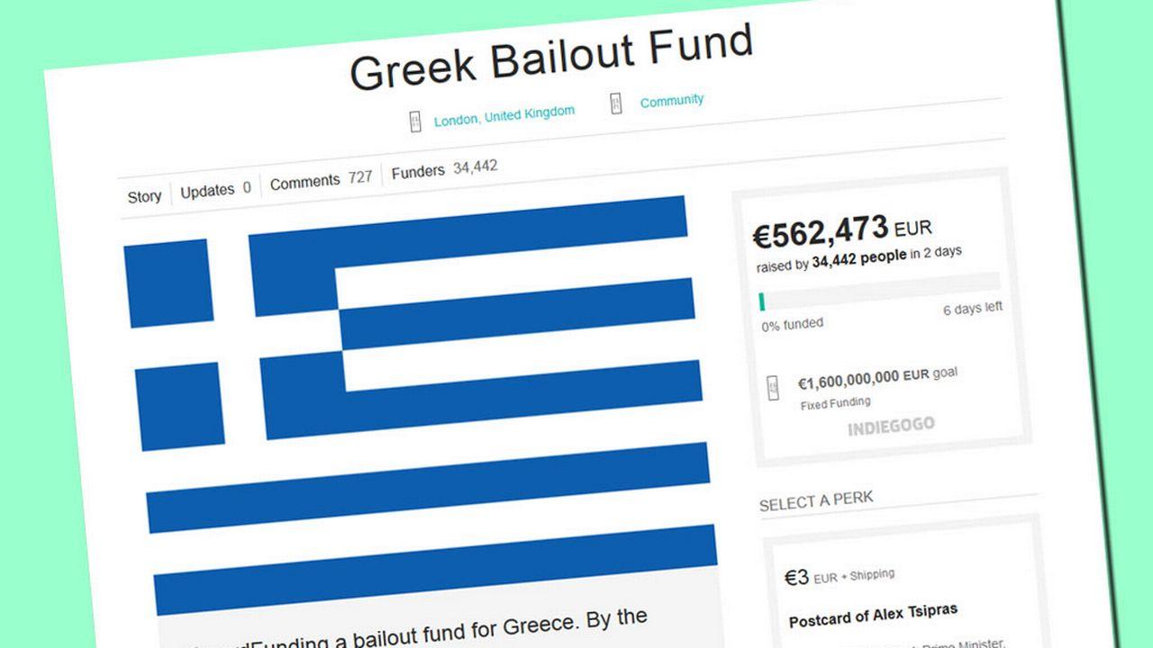 Plus de560'000 euros avaient déjà été récoltés mercredi matin. [IndieGogo]