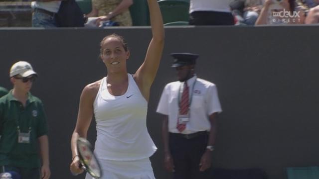 2e tour, Madison Keys (USA-21) – Stefanie Vögele (SUI) (6-7 6-3 5-4). 3 balles de match contre la Suissesse [RTS]