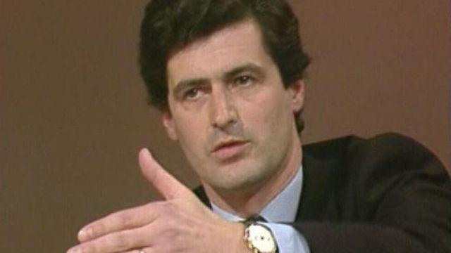 Le conseiller national PDC genevois Jean Philippe Maître en 1984 [RTS]