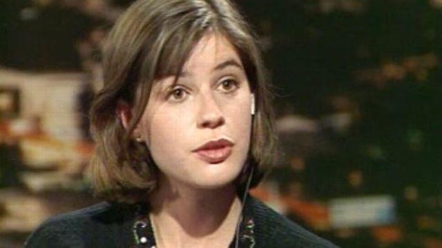 Irène Jacob en 1991. [RTS]