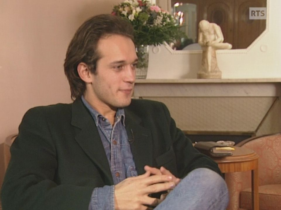 Vicnent Perez en 1992 [RTS]