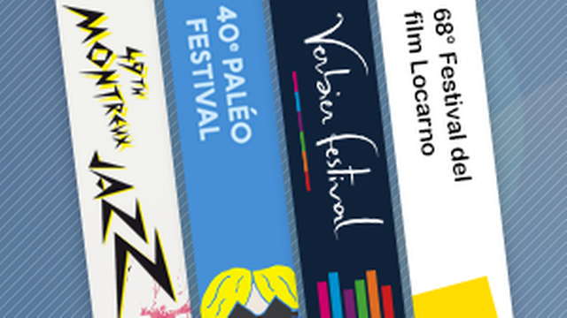 Les festivals de l'été 2015. [RTS]
