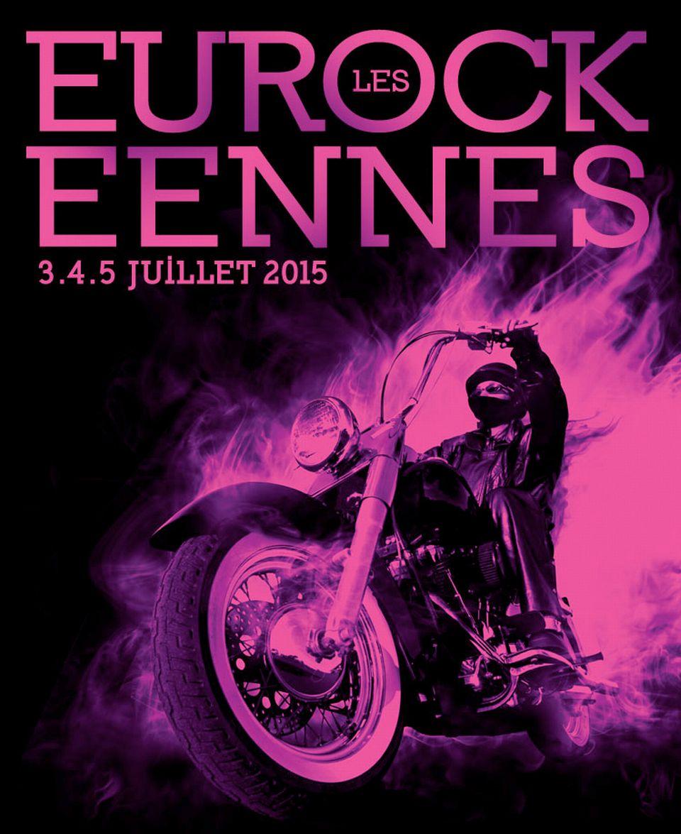 L'affiche 2015 des Eurockéennes de Belfort. [eurockeennes.fr]