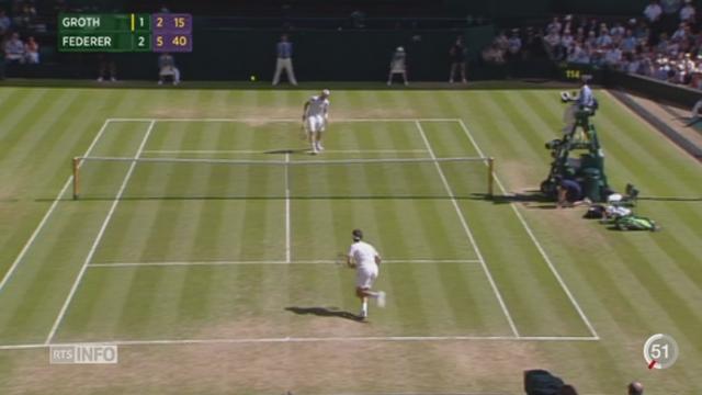 Tennis- Wimbledon: Timea Bacsinszky et Roger Federer se sont facilement qualifiés pour les huitièmes [RTS]
