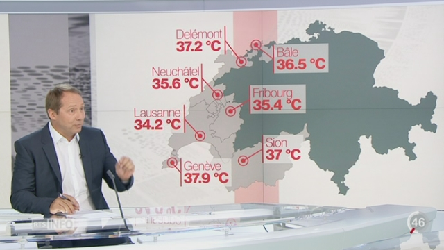 Canicule: l'analyse de Philippe Jeanneret